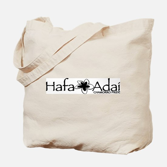 Hafa Adai from Chamorro Pride Tote Bag