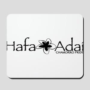 Hafa Adai from Chamorro Pride Mousepad