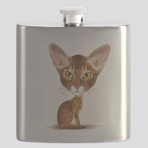 Aby Caricature Flask