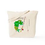 Combat-Fishing (R) Tote Bag