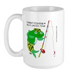 Combat-Fishing (R) Large Mug