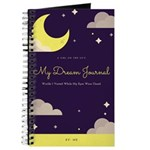 A Girl On The Go Dream Journal Notebook
