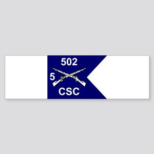 CSC 5/502nd Bumper Sticker