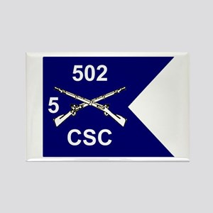 CSC 5/502nd Rectangle Magnet