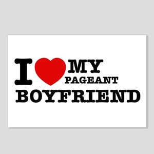 I love my Pageant Boyfriend Postcards (Package of