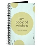 A Girl On The Go Book Of Wishes Notebook