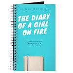 Girl On Fire Journal Notebook