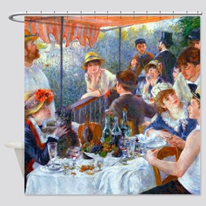 Renoir - Boating Party Shower Curtain