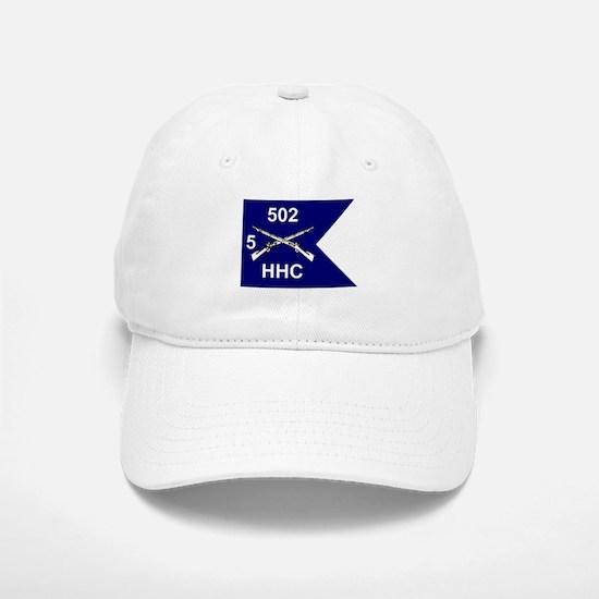 HHC 5/502nd Baseball Baseball Cap