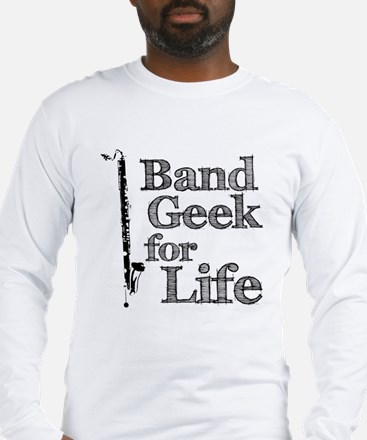 Bass Clarinet Band Geek Long Sleeve T-Shirt