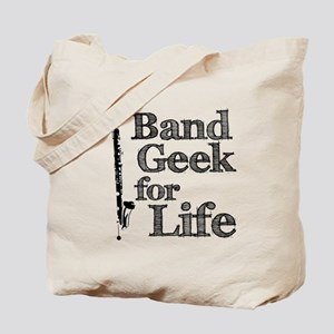 Bass Clarinet Band Geek Tote Bag