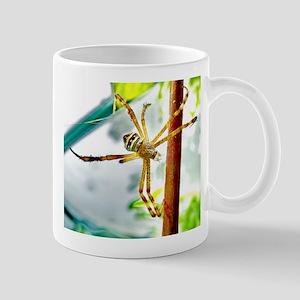 Yellow Argiope Mug