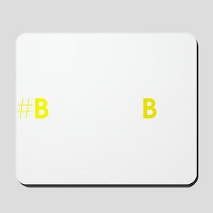 #BeyondBias Mousepad