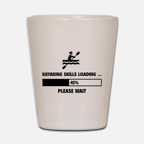 Kayaking Skills Loading Shot Glass