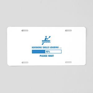Kayaking Skills Loading Aluminum License Plate