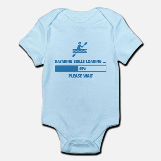 Kayaking Skills Loading Infant Bodysuit