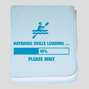 Kayaking Skills Loading baby blanket