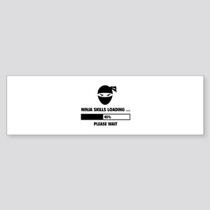 Ninja Skills Loading Sticker (Bumper)