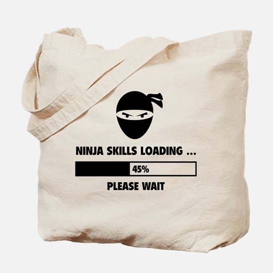 Ninja Skills Loading Tote Bag