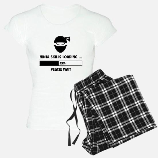 Ninja Skills Loading Pajamas