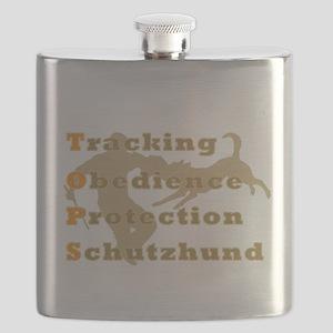 Schutzhund is TOPS Flask