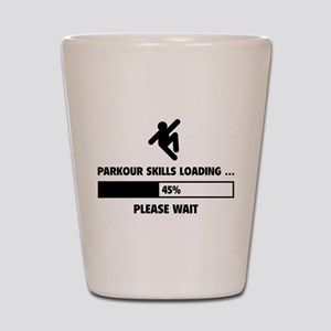 Parkour Skills Loading Shot Glass