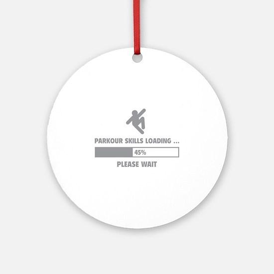Parkour Skills Loading Ornament (Round)