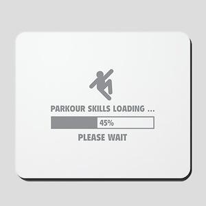 Parkour Skills Loading Mousepad