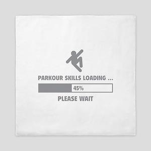 Parkour Skills Loading Queen Duvet