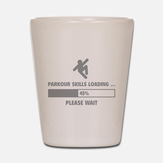 Parkour Skills Loading Shot Glass