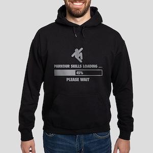 Parkour Skills Loading Hoodie (dark)