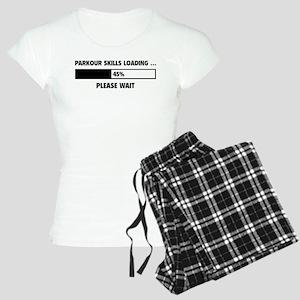 Parkour Skills Loading Women's Light Pajamas
