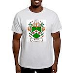 Kieran Coat of Arms Ash Grey T-Shirt