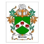 Kieran Coat of Arms Small Poster