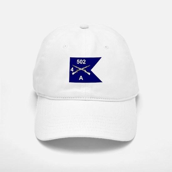 A Co. 4/502 Baseball Baseball Cap