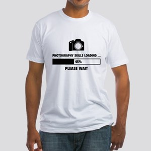 Photography Skills Loading Fitted T-Shirt