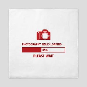 Photography Skills Loading Queen Duvet
