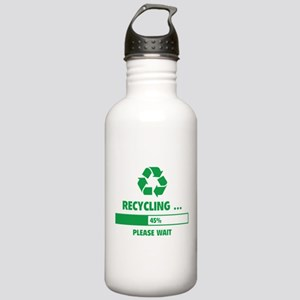 RECYCLING ... Stainless Water Bottle 1.0L