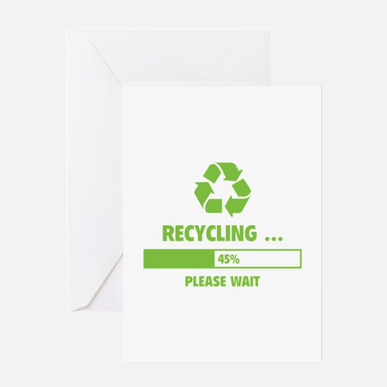 RECYCLING ... Greeting Card
