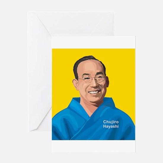 Chujiro Hayashi, Greeting Card