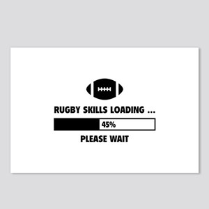 Rugby Skills Loading Postcards (Package of 8)