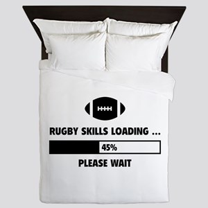 Rugby Skills Loading Queen Duvet