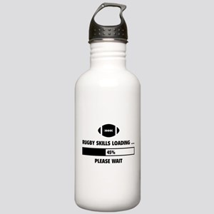 Rugby Skills Loading Stainless Water Bottle 1.0L