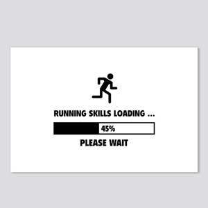 Running Skills Loading Postcards (Package of 8)