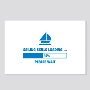 Sailing Skills Loading Postcards (Package of 8)