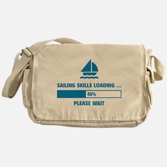 Sailing Skills Loading Messenger Bag