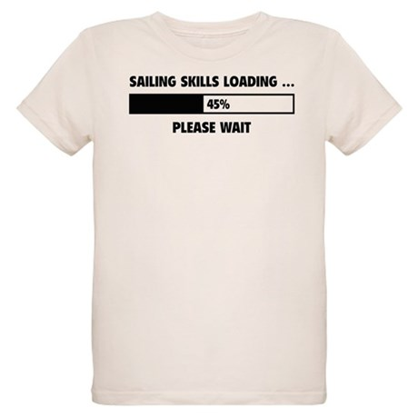 Sailing Skills Loading Organic Kids T-Shirt