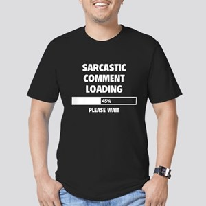 Sarcastic Comment Loading Men's Fitted T-Shirt (da