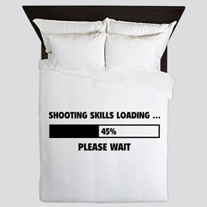 Shooting Skills Loading Queen Duvet