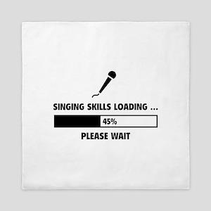 Singing Skills Loading Queen Duvet